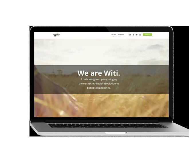 Witi Website Mockup