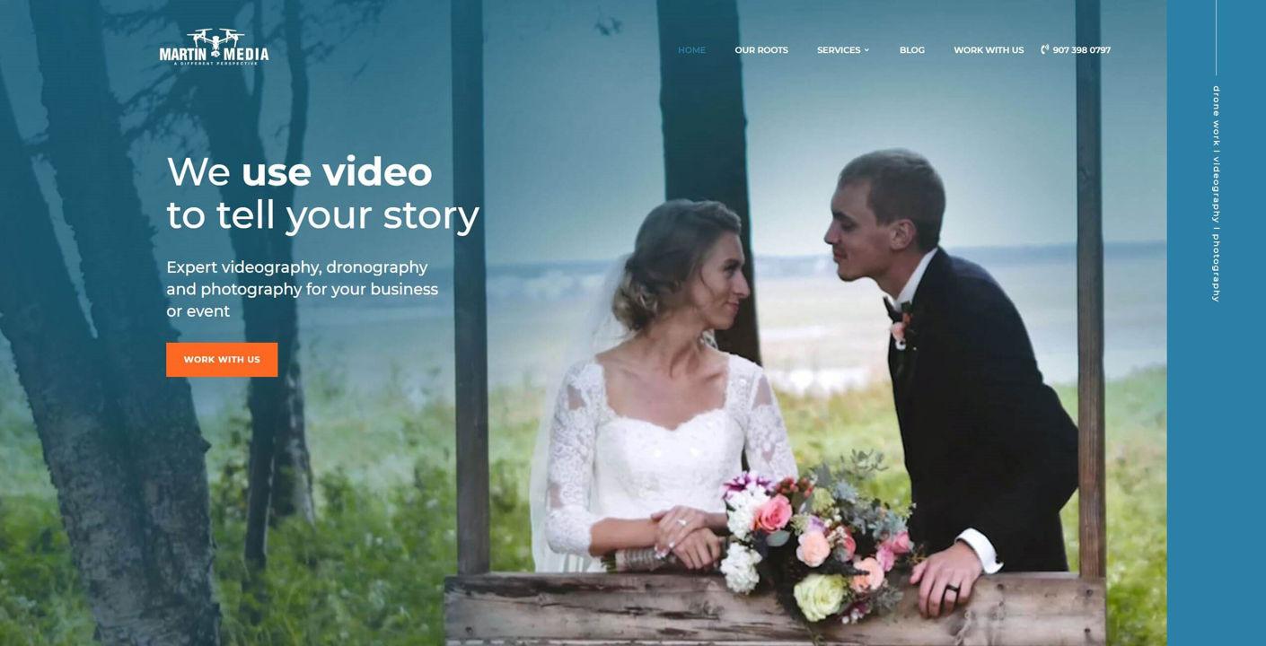 Martin Media Website Design